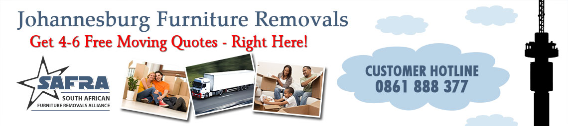 Furniture Removals Benoni, Johannesburg | Get 4-6 Moving Quotes!