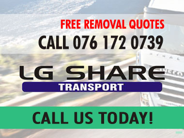 LG Share Transport - As a leading Port Elizabeth based removals company, LG Shares first responsibility is to the client to provide the highest standards in logistics and transport services. Our vast experience in this field enables us to offer you a personalised service.
